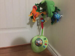 Fisher Price Rainforest Peek a boo leaves mobile
