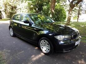 2009 59 BMW 116 5 Door Black 1 former keeper £3395