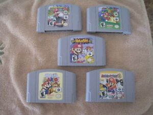 Nintendo 64 Games.