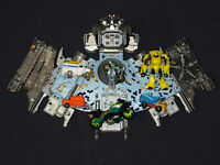 Transformers mini figures and Ark