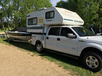 *RARE* light weight truck camper-fits 1/2 ton