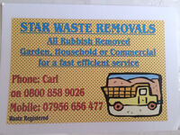 Rubbish removals/ house clearance/ garden waste/ nothing to big or small