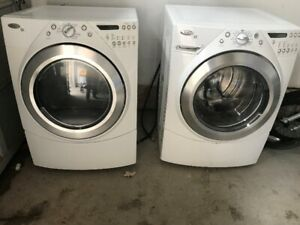WHIRLPOOL DUET WASHER & DRYER  $600
