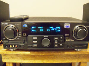 AIWA AV-D77 Stereo Receiver Amplifier 170 WATT/CH. 5.1
