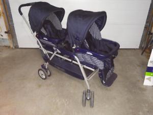 Peg Perego Elegante Double Stroller