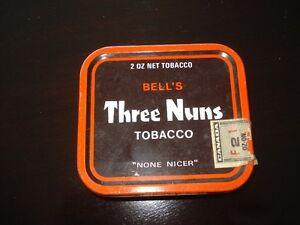 VINTAGE BELL'S THREE NUNS TOBACCO TIN $15