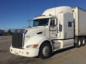 2007 Peterbilt with  CAT warranty and NO DEF