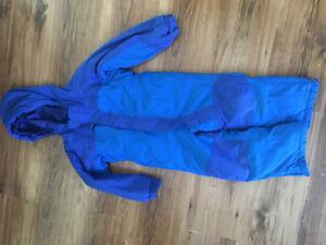 L.L.Bean one piece snow suit