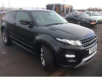 2012 61 LANDROVER EVOQUE 2.2SD4 DYNAMIC LUX AUTO GOOD AND BAD CREDIT CAR FINANCE