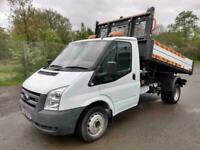 58 FORD TRANSIT 115PS ONE STOP DROPSIDE TIPPER, EX COUNCIL, 51,000 MILES!