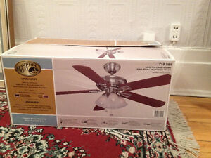 "Ventilateur de Plafond  **  52"" Hampton Bay ** Ceiling Fan"