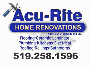 Home Renovations ,Upgrades, flood restoration/repairs Windsor Region Ontario image 1