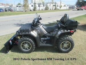 2012 Polaris Sportsman 850 LE EPS Touring - LOADED & ONLY 27KM!