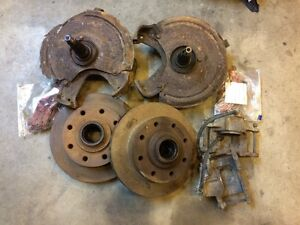 C30 ou C20 1968 a 1972 kit conversion disque brake avant