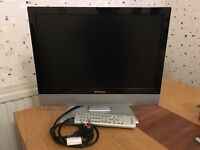 """19"""" LCD TV with Freeview"""