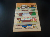 Fisher Price Bear and Cubs Puzzle
