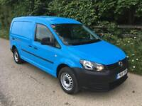 2015 15 Volkswagen Caddy Maxi 1.6TDI 102PS Startline Van HIGH SPEC 17000 Miles