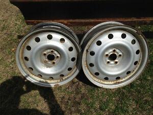 Subaru Outback WINTER steel Rims (2) 2006