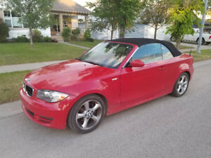 2009 BMW 128i  2 door Cabriolet  Convertible.