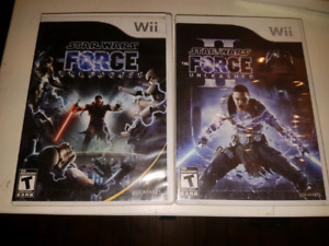 2 star wars games for Nintendo Wii