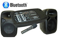 Kit de son Portable Bluetooth - kit de Karaoké complet!