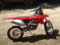 2006 CRF250X Electric Start, Well maintained 3750 OBO