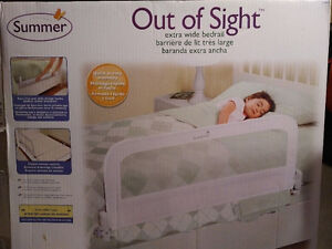 Summer Infant Out of Sight Bedrail - Never Used