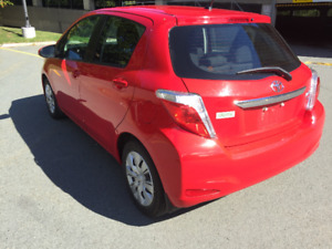 2014 Toyota Yaris Le W/ Bluetooth, AC, USB/Aux, Cruise