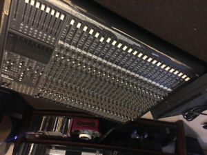 Mackie mixing console