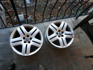 "17"" rims vw from 2002 jetta"