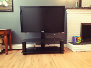 55 inch Toshiba t.v with stand