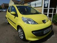 2008 Peugeot 107 Urban 1.0 Automatic Yellow 5 Door Low Insurance £20 Road Tax