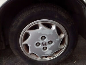 Winter stud tires