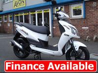 NEW Sym Jet 4 50cc Sports Scooter Automatic Twist and Go *Finance*