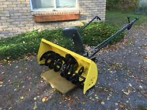 Snowblower Attachment 42 inch, for John Deere Tractor 100 Series