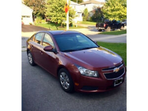 2012 Chevrolet Cruze 4dr Sedan LT Turbo FOR SALE $6,000.00