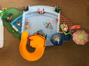 Play mobile swimming pool.