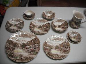 Set de vaisselle antique vintage