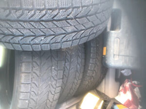 215 70 r16 BF Goodrich  winter tires