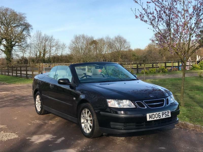 Saab 9-3 1.8t 2006 Linear Convertible warranty included