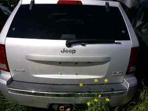 2006 2007 2008 Jeep Grand Cherokee tail gate tailgate