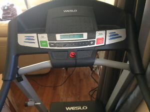 TREAD MILL - $129/= RARELY USED-  Weslo Cardence G5.91