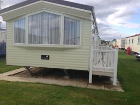 6 Berth Caravan for rent in chapel st Leonard's Skegness
