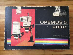 Opemus 5 Colour Enlarger and Full Darkroom Setup 35mm 120 Film