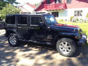 Jeep Wrangler Unlimited Sahara 2014 , Navigation+, 2 toits