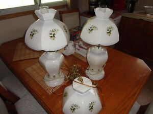 Lamps and ceiling light