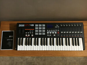 AKAI MPK49 Performance Controller with MPC drum pads