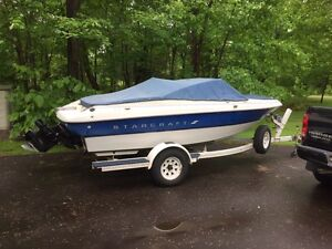 1994 Starcraft 17ft bowrider with trailer
