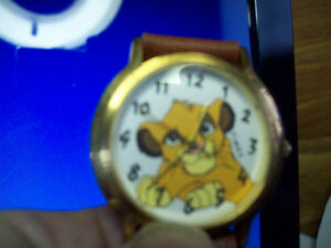 RARE MICKEY MOUSE WATCH  and TIMEX LION KING WATCH London Ontario image 3