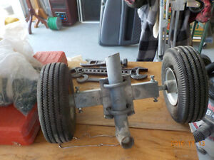 Wheels For A Chain Link
